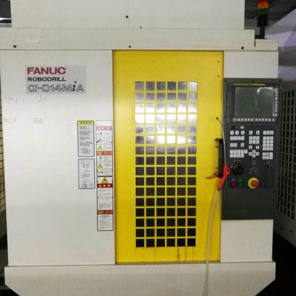 Used Fanuc D14MiA RoboDrill - pic 4