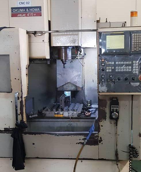 Used Okuma & Howa Millac 415V CNC VMC - pic 2