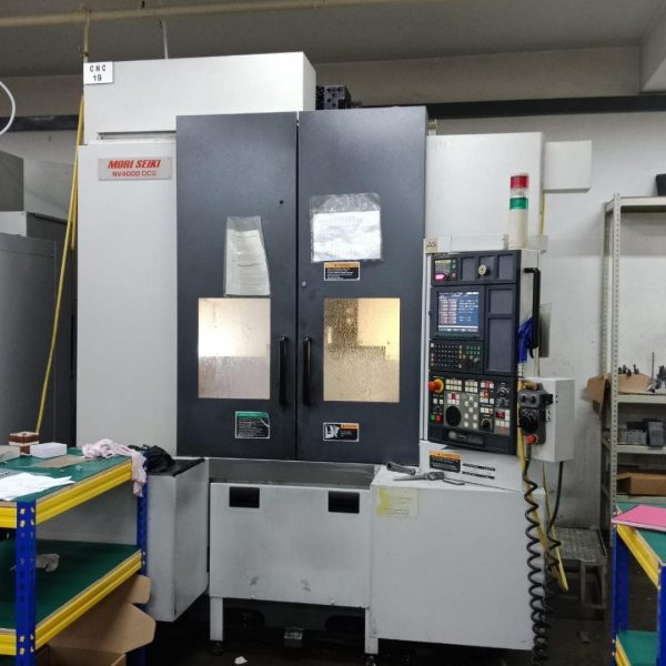 Used Mori Seiki NV4000DCG Machine - pic 1