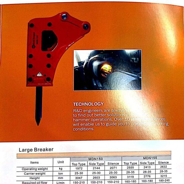 Side Type Breaker - Large Breaker