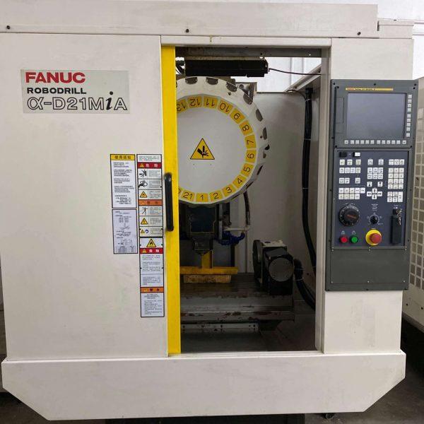 Used Fanuc Alpha D21MiA RoboDrill MC 2 - pic 10