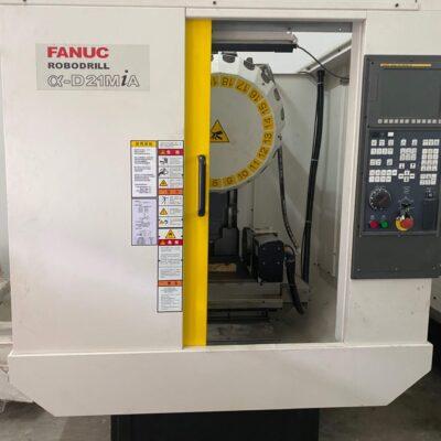 Used Fanuc Alpha D21MiA RoboDrill - pic 5