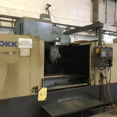 Used OKK VM7 CNC VMC - pic 1